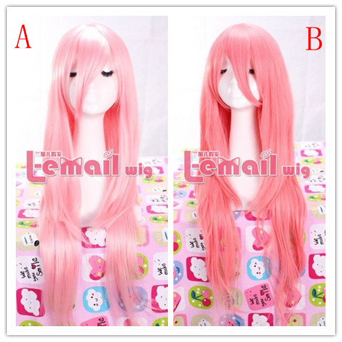 75CM-80CM long 2 colors wavy natural straight Cosplay Wig