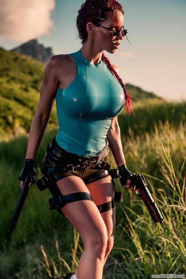 Fabulous and Charming Lara Croft Cosplays