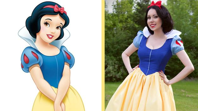 Beautiful Disney Princess Cosplay