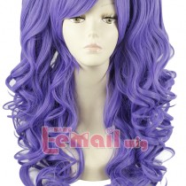 Recommend You 60cm Light Purple Lolita ponytail wavy Wig
