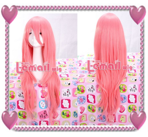 Review on New luka straight L-email cosplay wig