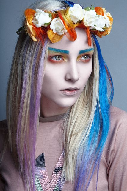 Colorful wig8