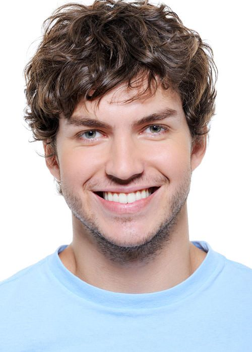Charming Curly Wigs for Men