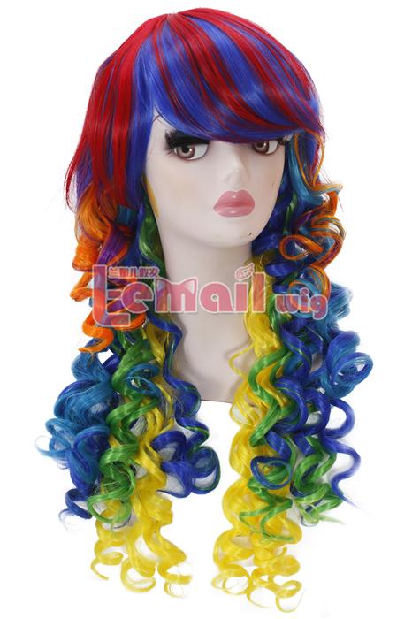 Colorful Rock Wigs Keep You Fashionable