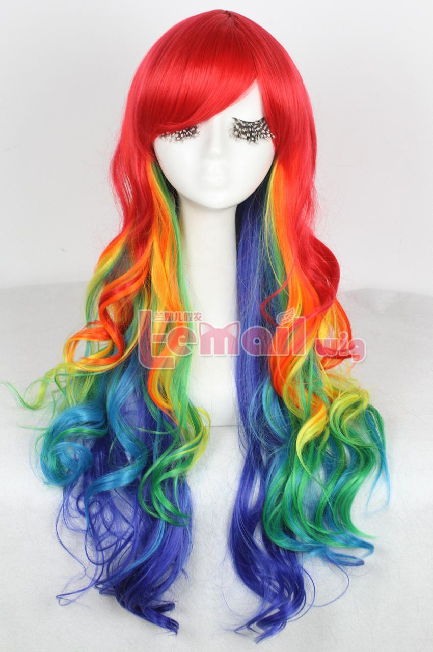 Colorful Rock Wigs Keep You Fashionable L Email Wig Blog