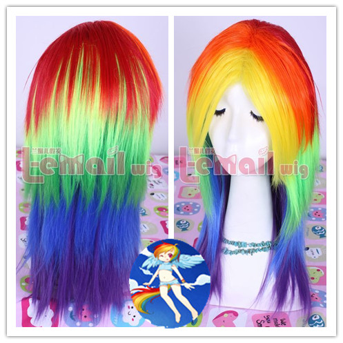 Find Your Multi-colored Wig