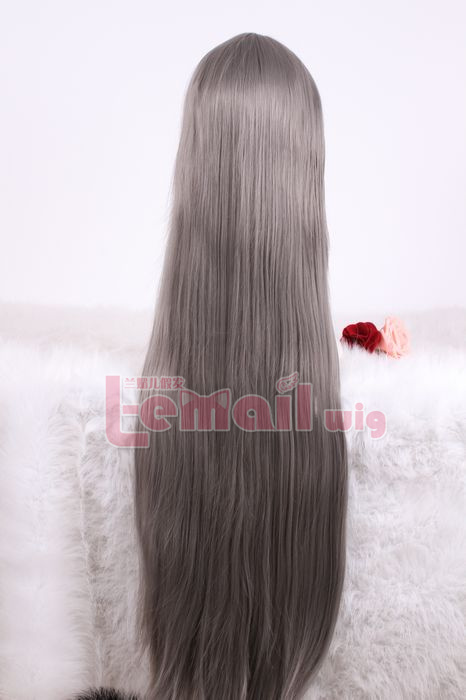 Great Long Grey Wig for Your Halloween Look
