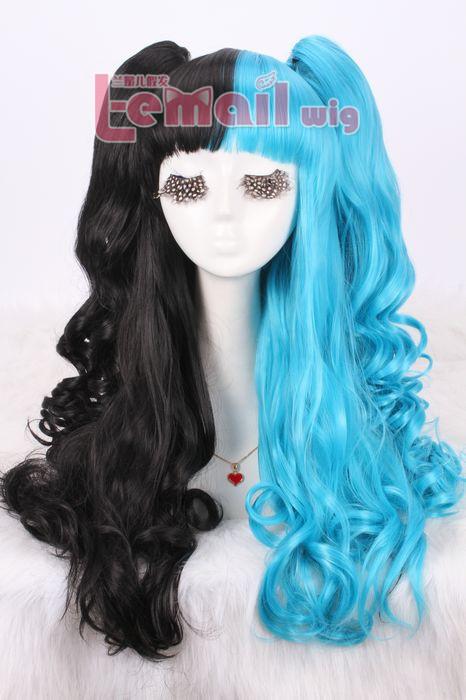 Lolita Two Tone Mixed/ Multi Color Wigs