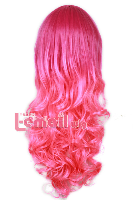 This Red and Pink Wig Will Make You Crazy