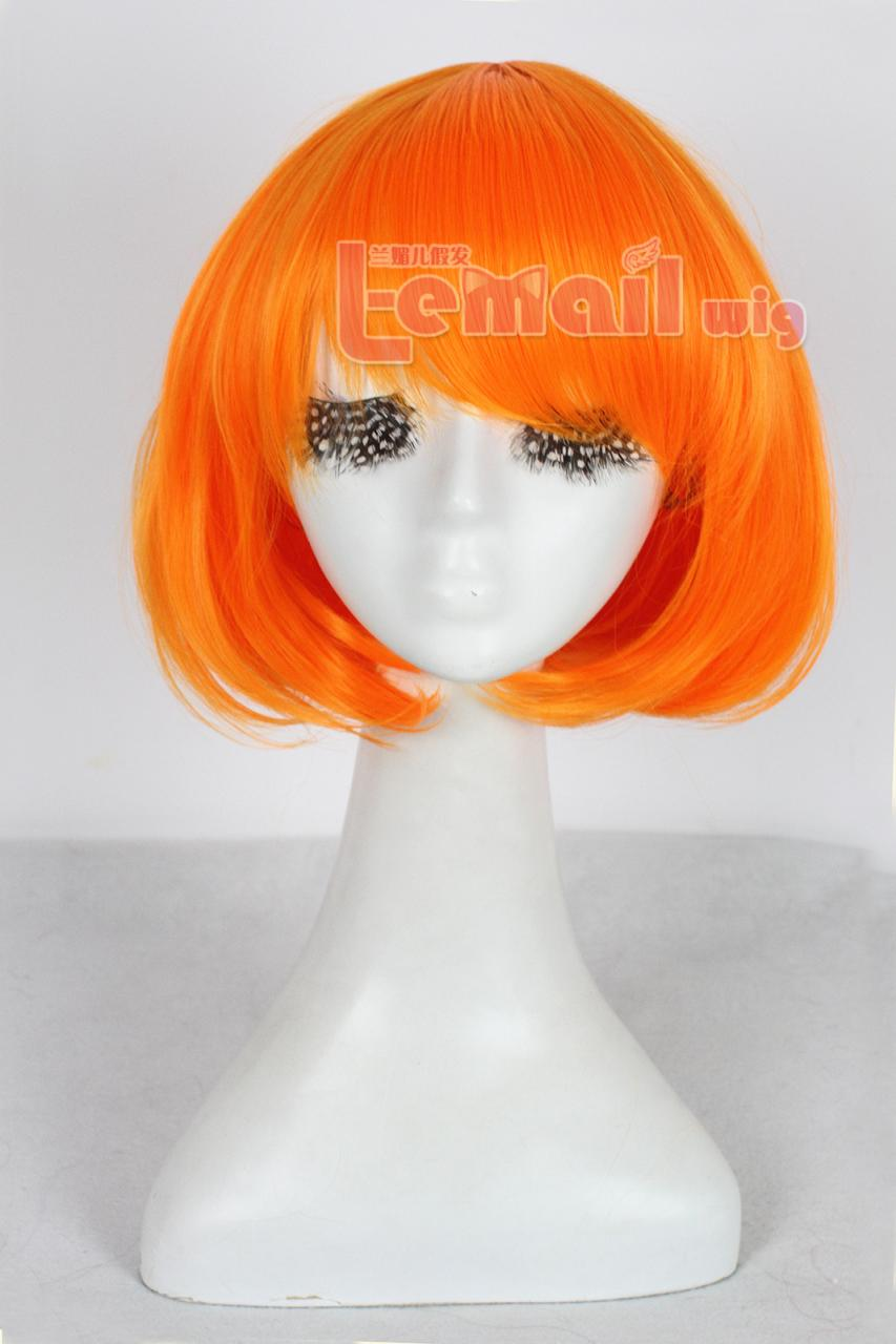 Warm and Enthusiastic Orange Color Wigs for This Autumn