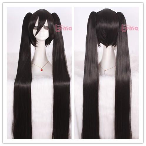 120cm Vocaloid Miku Cosplay Wig