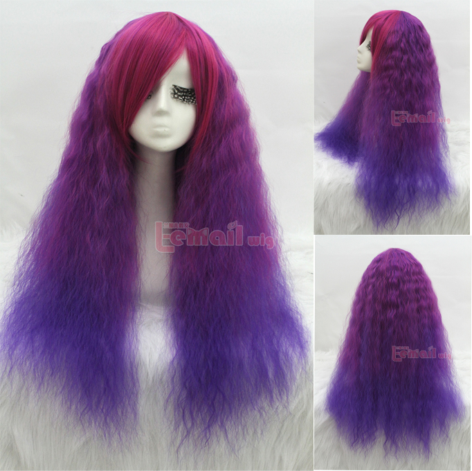 Colorful Rhapsody Curly Wigs