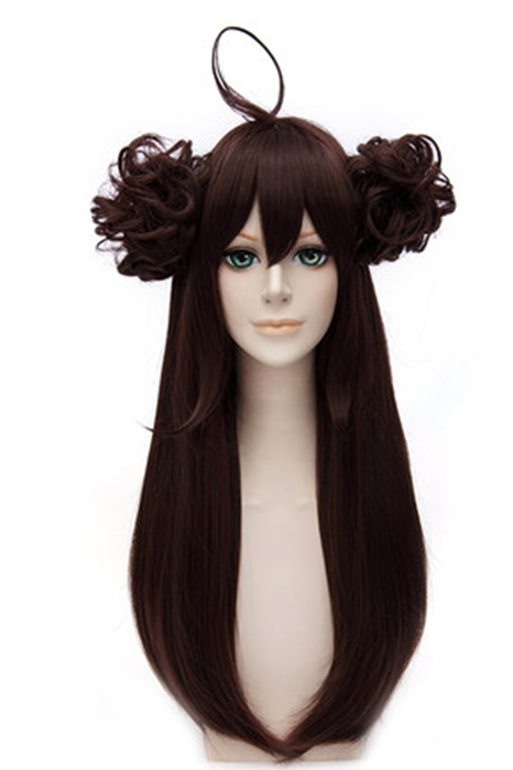 Kantai Collection: KanColle Kongou Dark Brown Wig