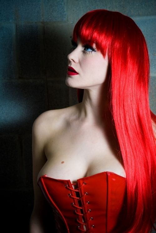 You Need Charming Red Wig Today4
