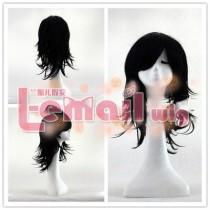 Kaitai Collection Kuroki Tomoko Black Cosplay Wig