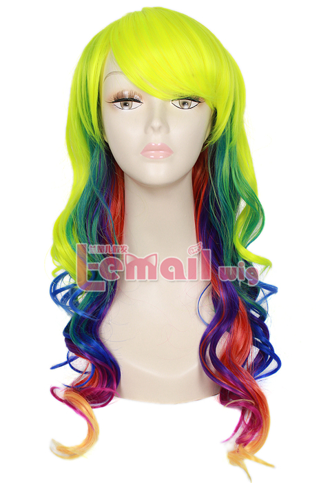 Rainbow Wig Leads New Fashion Trend