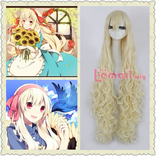 Top Quality Long Blonde Wave Wig