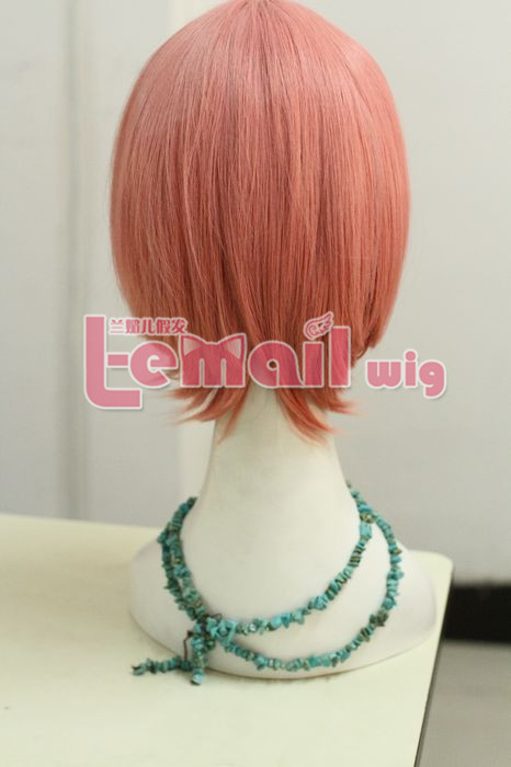 Top Quality Short Smoky Pink Wig