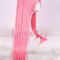 80cm Long Pink Straight Cosplay Wig