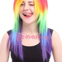 Colorful Cosplay Wig You Can't Miss