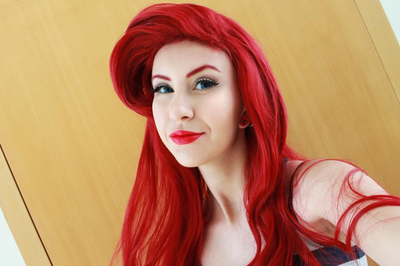 Mermaid Red Wig Review For Rolecos
