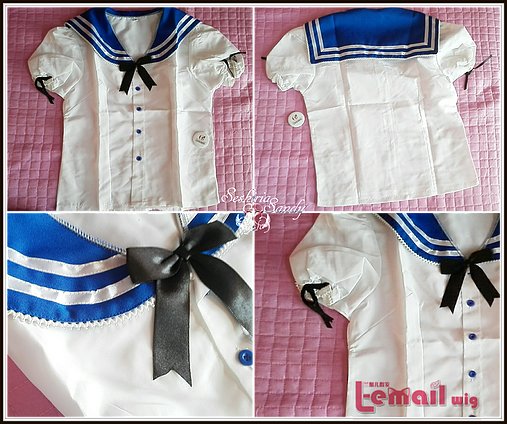 Sailor Summer Dress - L-email Wig!
