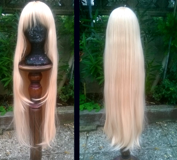L-email Wig  Doma Umaru Wig Review