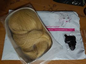L-email Blonde wig Review