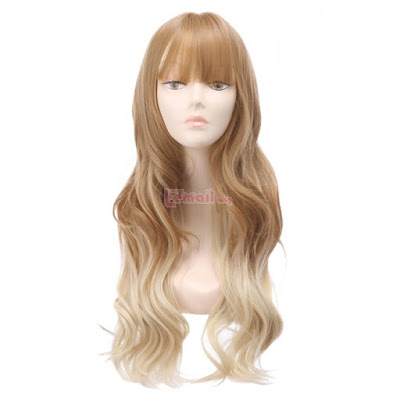 Brown Blonde Mixed Color Hair Wigs Review