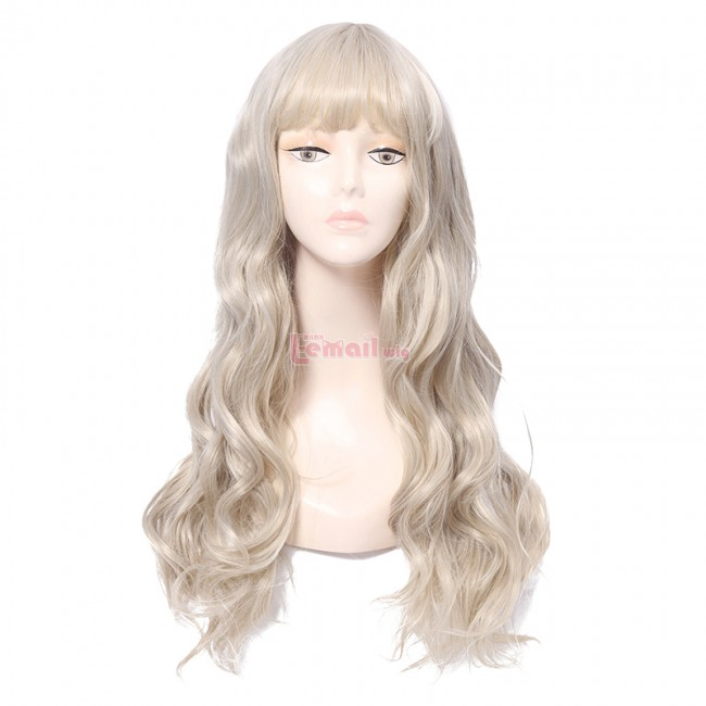 fashion wig with bangs