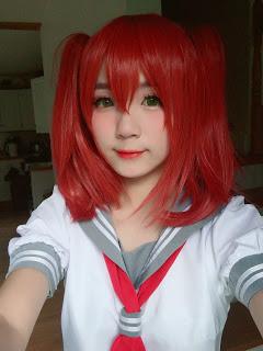Wig Supplier Aquors Ruby Kurosawa Wig and Costume