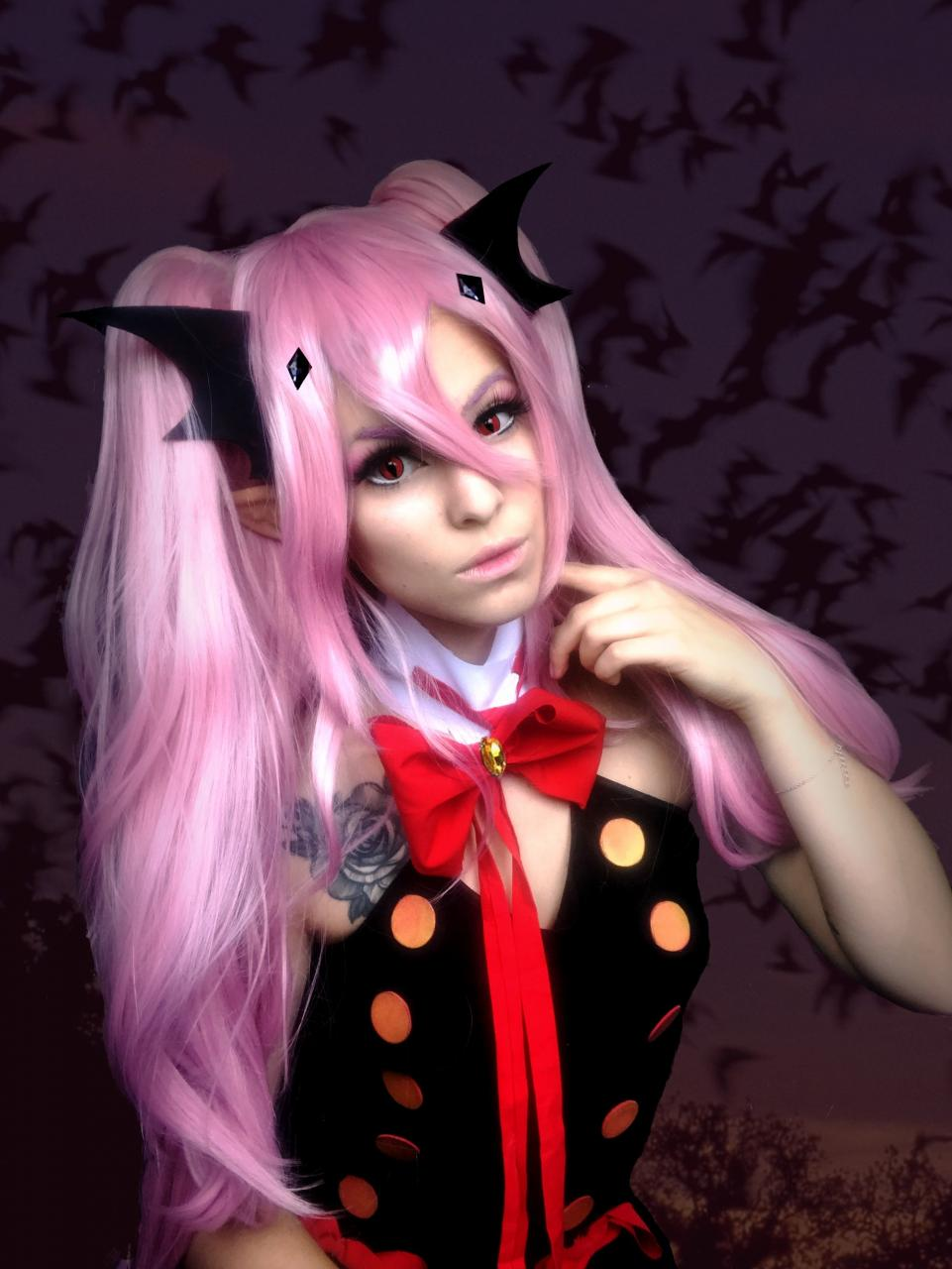 Seraph Of The End Krul Tepes Cosplay Wig Review