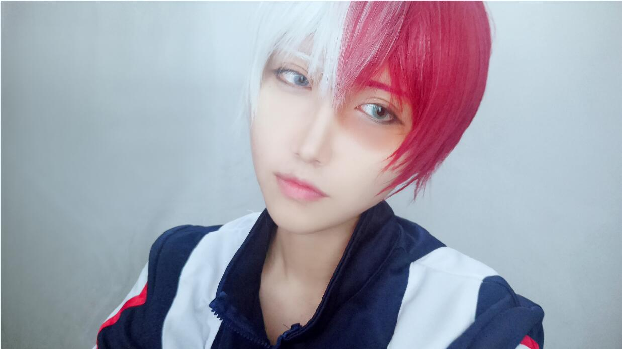 Shouto Todoroki Makeup Tutorial L Email Wig Blog