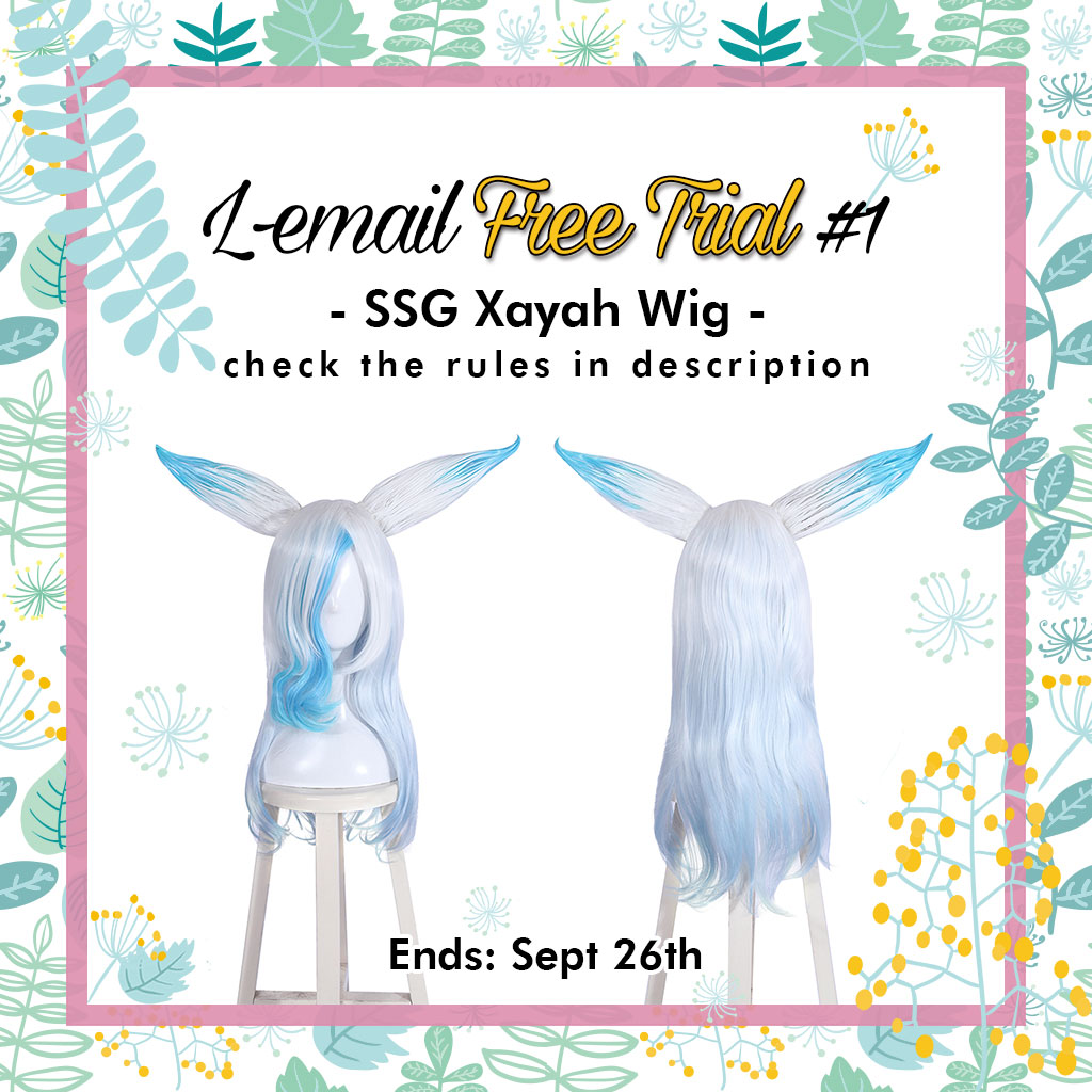 How to Enter L-email Free Trial for SSG Xayah Wig   L - email wig blog