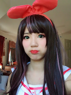 Kizuna Ai Costume and Wig Review