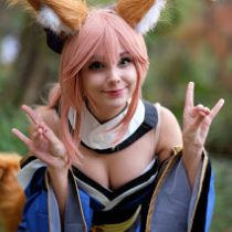 Tamamo no Mae Wig Review [SPONSORED by L-EMAIL WIG]