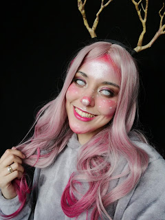 【L-email Fashion Wig Review】Kawaii Reindeer!