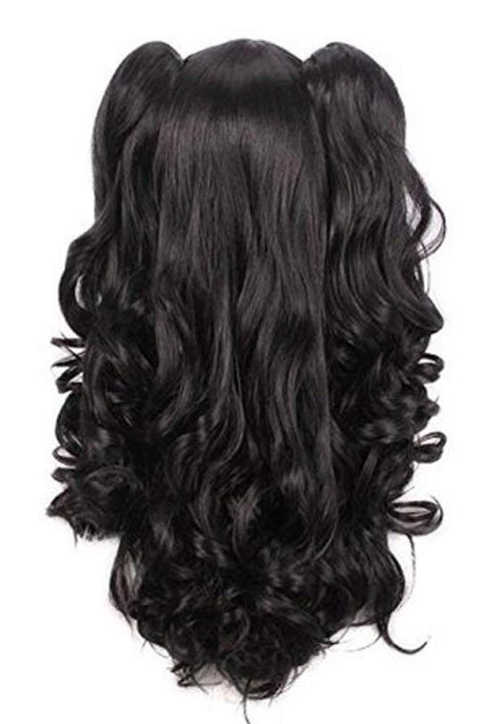 L-EMAIL BLACK LOLITA CLIP ON PONYTAIL WIG REVIEW