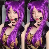KDA Kaisa Cosplay Costume + Wig Review