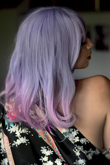 Lolita Sweet Light Purple Fashion Wig Reivew