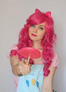 My Little Pony Pinky Pie Cosplay Wig