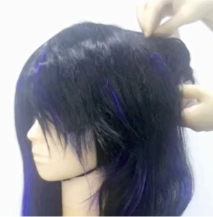 【L-email Tutorial】High Light Your Wig And Make It Curly