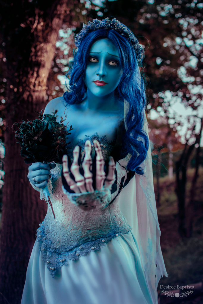 Corpse Bride Cosplay Makeup – Noiva Cadáver || L-email Review