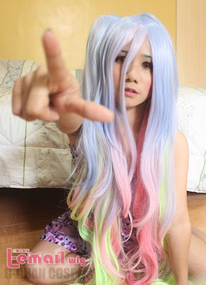 No game no life Shiro Cosplay Wig Review