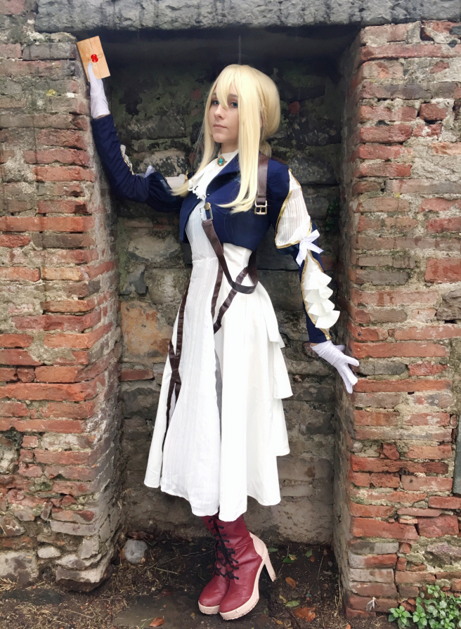 Review – Violet Evergarden Cosplay by L-email Wig
