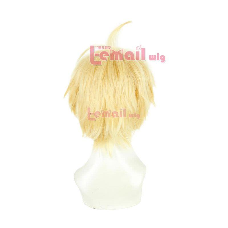 Seraph of the End Mikaela Hyakuya Short Blonde Cosplay Wig