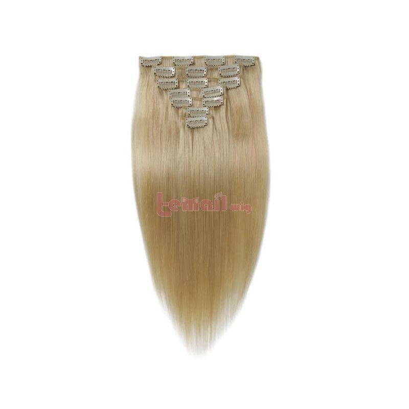 18 Inches Blonde Human Hair Piece Human Hair Extensions