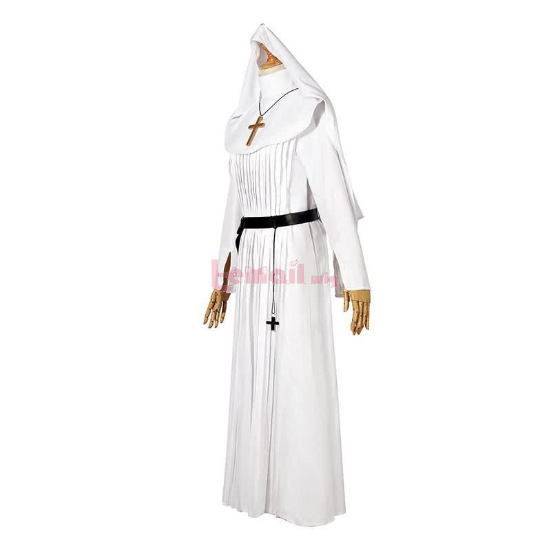 2020 Horror Movie The Nun Trailer Valak Sister White The Conjuring Women Halloween Costumes