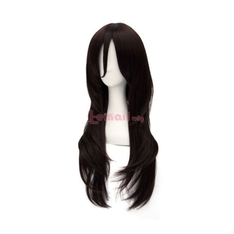 Sword Art Online Kirigaya Kazuto Long Black Synthetic Cosplay Wigs