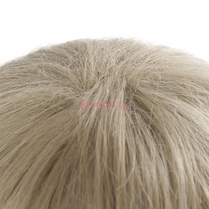 25cm Bungo Stray Dogs Atsushi Nakajima Anime Short Curly Light Gray Cosplay Wigs JF281